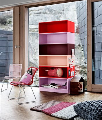 verner panton st hle tivoli kids regal montana co16 b11 onlineshop. Black Bedroom Furniture Sets. Home Design Ideas